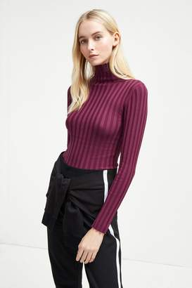 French Connenction Two Tone Rib Knit Jumper