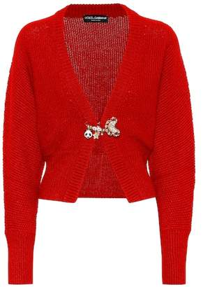 Dolce & Gabbana Alpaca and wool-blend cardigan