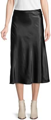 Lea & Viola Fluted Midi Skirt