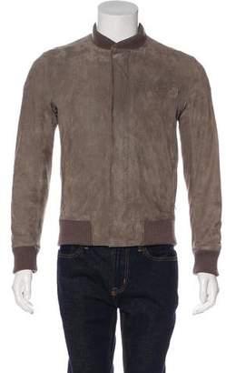 Christian Dior Suede Bomber Jacket