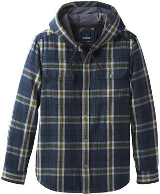 Prana Bolster Hooded Flannel Jacket - Men's