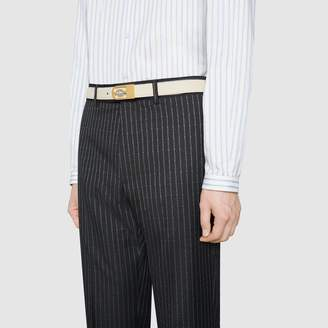 Gucci Reversible belt with Interlocking G buckle