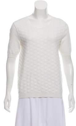 HUGO BOSS Boss by Polka Dot Short Sleeve Sweater