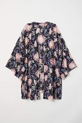 H&M H&M+ Short Kimono - Black
