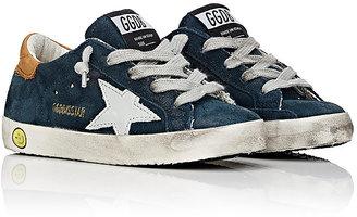 Golden Goose Superstar Suede Sneakers $240 thestylecure.com