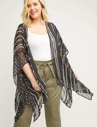 Lane Bryant Printed Kimono