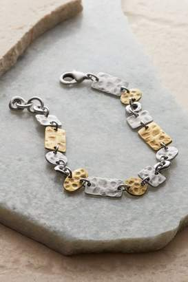 Soft Surroundings Hammered Mixed Metals Bracelet