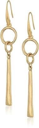 The Sak Linked Linear Drop Earrings