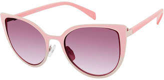 Libby Edelman Full Frame Cat Eye UV Protection Sunglasses-Womens