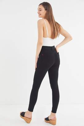 BDG Twig Seamed High-Rise Skinny Jean - Black