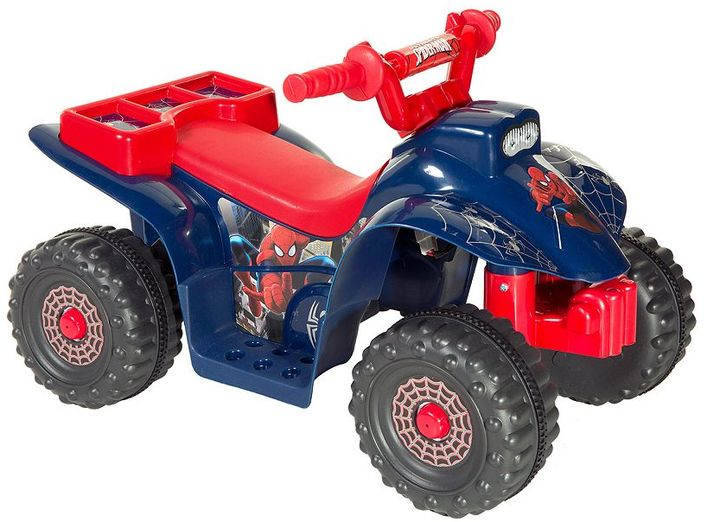 Spider-Man Ride-On Little Quad