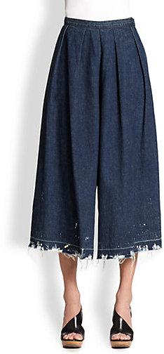 Rachel Comey Wayward Denim Culotte Pants