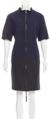 Marni Short Sleeve Paneled Dress