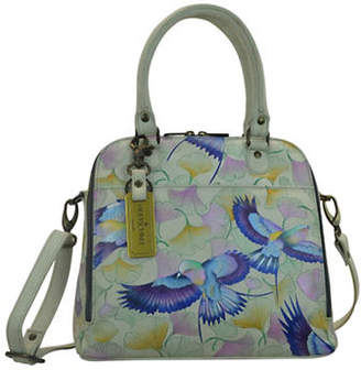 Anuschka Convertible Handpainted Leather Satchel