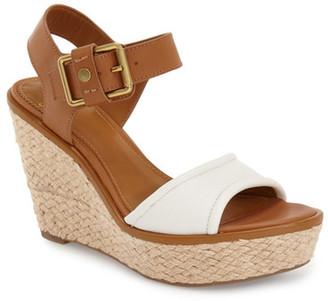 Franco Sarto Carlazzo Platform Wedge Sandal $109.95 thestylecure.com