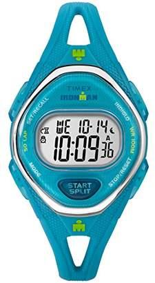 Timex Women's TW5M13500 Ironman Sleek 50 Silicone Strap Watch