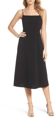 Women's Charles Henry Midi Dress $89 thestylecure.com