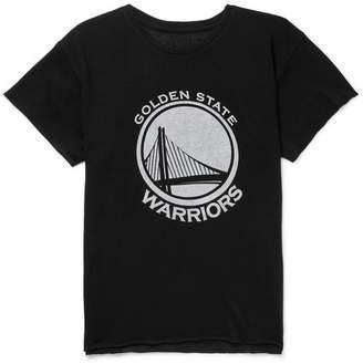 The Elder Statesman + Nba Golden State Warriors Printed Cashmere And Silk-Blend T-Shirt