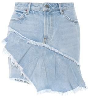 GRLFRND Giselle denim miniskirt