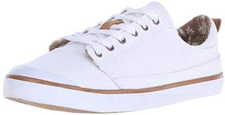 Reef Women's Girls Walled Low Fashion Sneaker $22.48 thestylecure.com