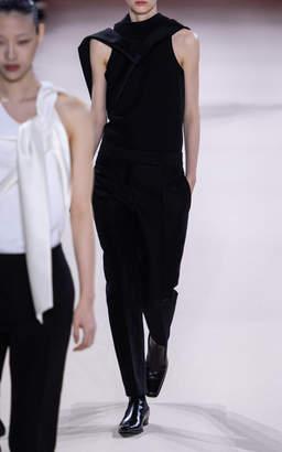 Haider Ackermann Cotton-Blend Straight-Leg Trousers