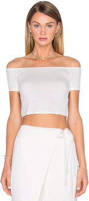 House of Harlow x REVOLVE Lola Off The Shoulder Crop $70 thestylecure.com