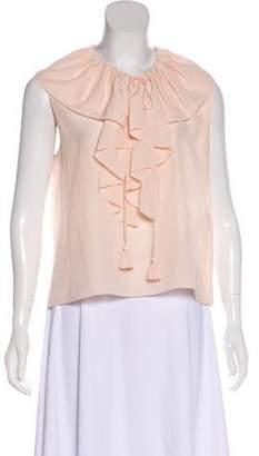 Chloé Silk Sleeveless Top