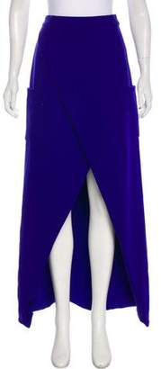 Preen by Thornton Bregazzi High-Low Maxi Skirt