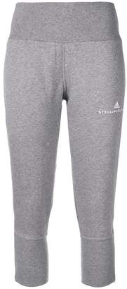 adidas by Stella McCartney logo embroidered track pants