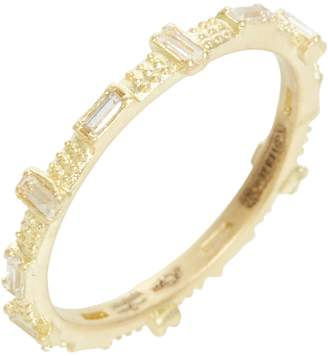 Armenta Sueno Baguette Sapphire Stacking Ring