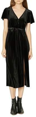 Sanctuary Airy Night Flutter-Sleeve Dress