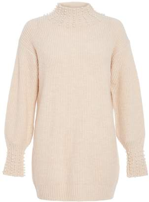 d6e4ce118 Cream Knitted Jumper - ShopStyle Canada