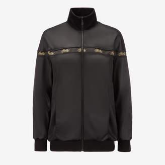 66832554c96 Bally Techno Jersey Tracksuit Jacket Black 5