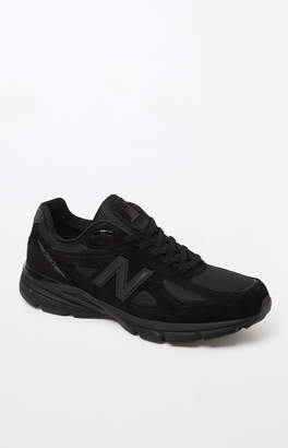 New Balance 990v4 Made in US Black Shoes