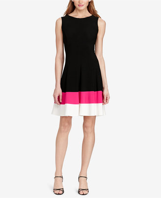 American Living Jersey Fit & Flare Dress $69 thestylecure.com