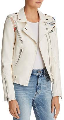 Blank NYC BLANKNYC Palm Tree Faux Leather Moto Jacket