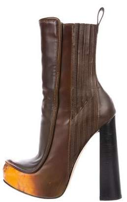 d20abefe59d Alexander Wang Leather Ankle Boots - ShopStyle