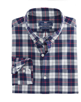 Vineyard Vines Riverbank Plaid Slim Murray Shirt