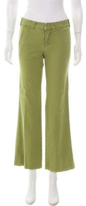 Vince Low-Rise Wide-Leg Pants