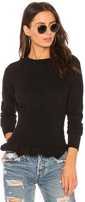 NSF Indira Ruffle Sweatshirt