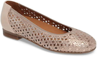 ara Stephanie Perforated Ballet Flat
