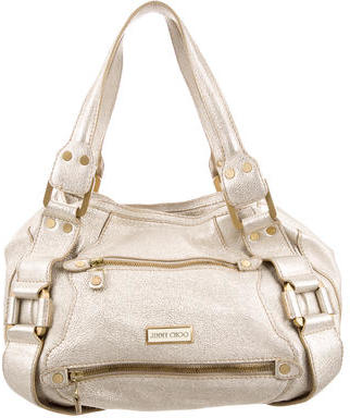 Jimmy Choo Jimmy Choo Leather Shoulder Bag