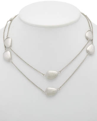 Rivka Friedman Rhodium Clad 36In Necklace