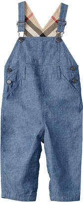 Burberry Girls' Japanese Denim Dungarees