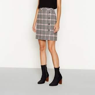 Red Herring Multicoloured Check Print Mini Skirt