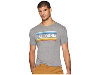 Original Retro Brand The Vintage California Stripe Tri-Blend Tee