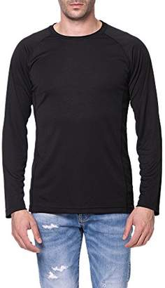 a46c23cd78 Co Trailside Supply Men s Quick-Dry Active Sport Long Sleeve Compression  Baselayer T-Shirt