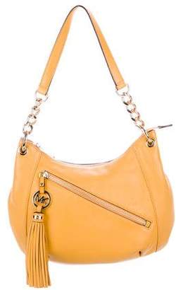 MICHAEL Michael Kors Grained Leather Tassel Hobo