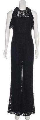 Alexis Embroidered Cutout Jumpsuit
