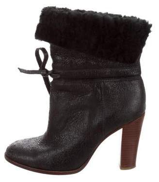 Tila March Leather Mid-Calf Boots